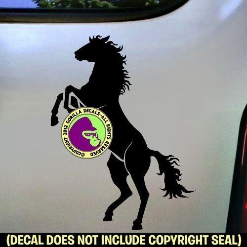 REARING HORSE Vinyl Decal Sticker B