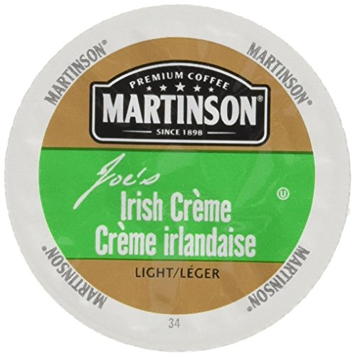 Martinson Joe's Coffee, Irish Creme, 24 Distinct Serve RealCups