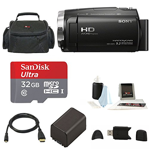 Sony HDR-CX675 Handycam Full HD 1080p Camcorder w/ Lithium I