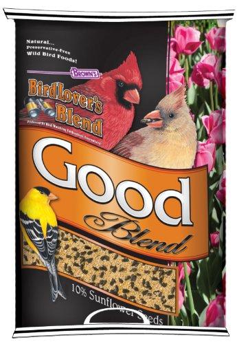 F.M. Brown's Bird Lovers Blend, 40-Pound, Good Blend, My Pet Supplies