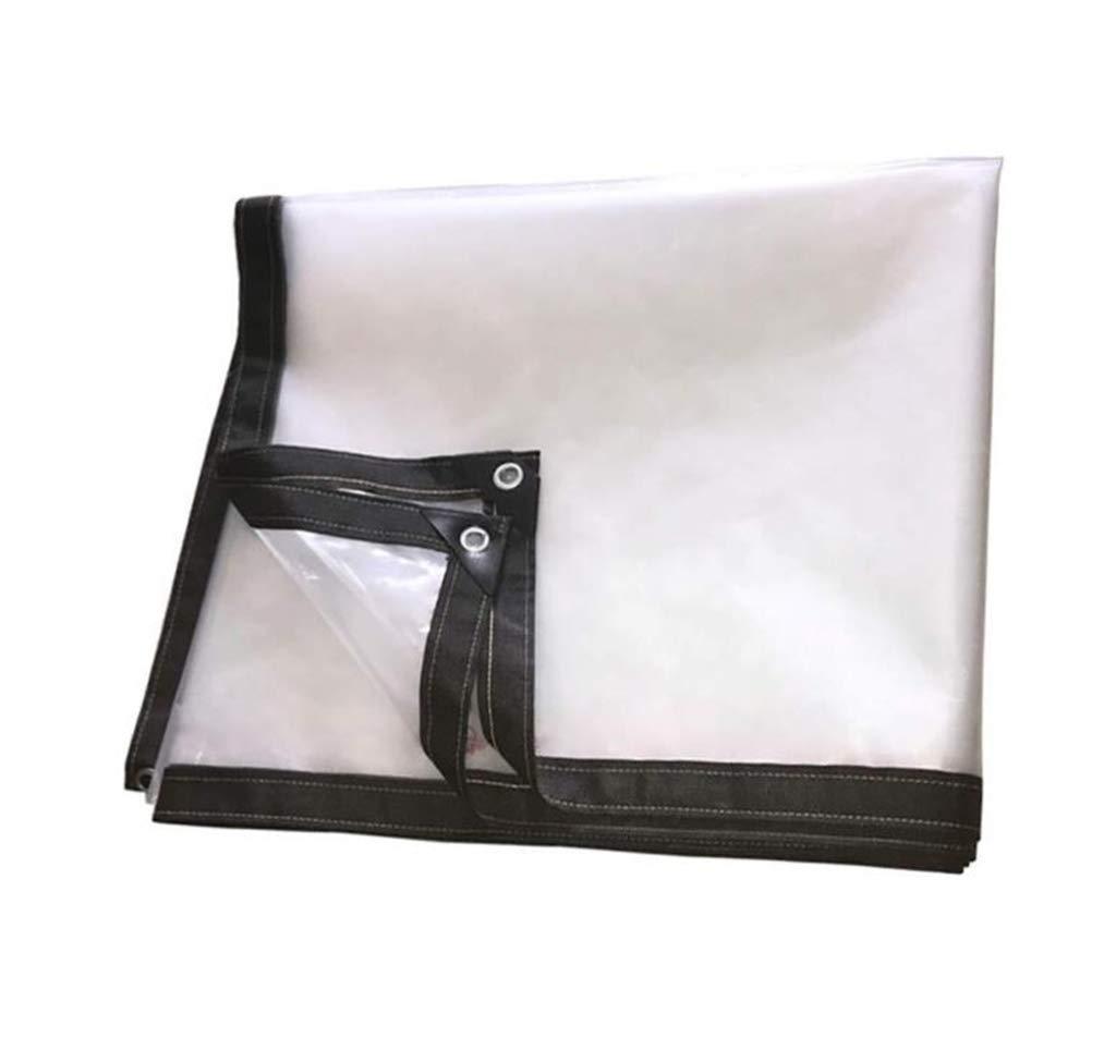 3×4 YU-BY Usage intensif imperméable Clair de bÂche Couvrant Le PE d'isolation Anti-vieillisseHommest de Film en Plastique de Pluie, 120G  ,4×5