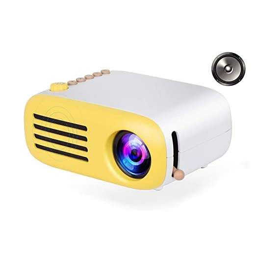 CWHALE Proyector de vídeo, portátil LED Bolsillo Mini proyector AV ...