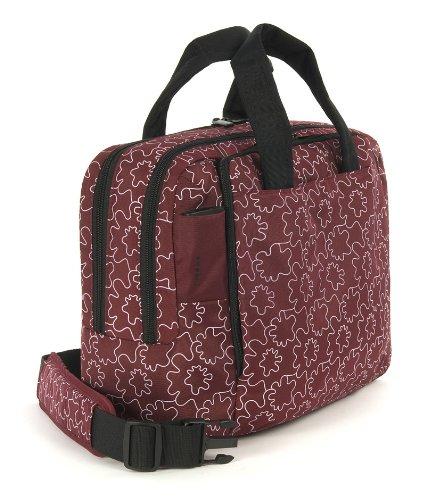 Unica Tucano Mendini Mano Bag A Nero Bordeaux Onda City Borsa AAZvx8
