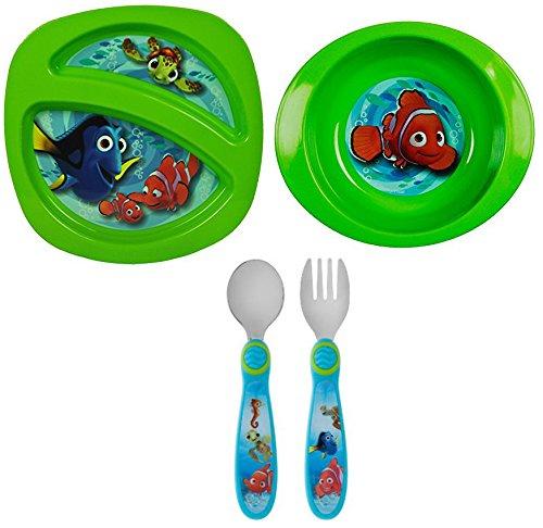 Disney Finding Nemo 4 Piece Mealtime
