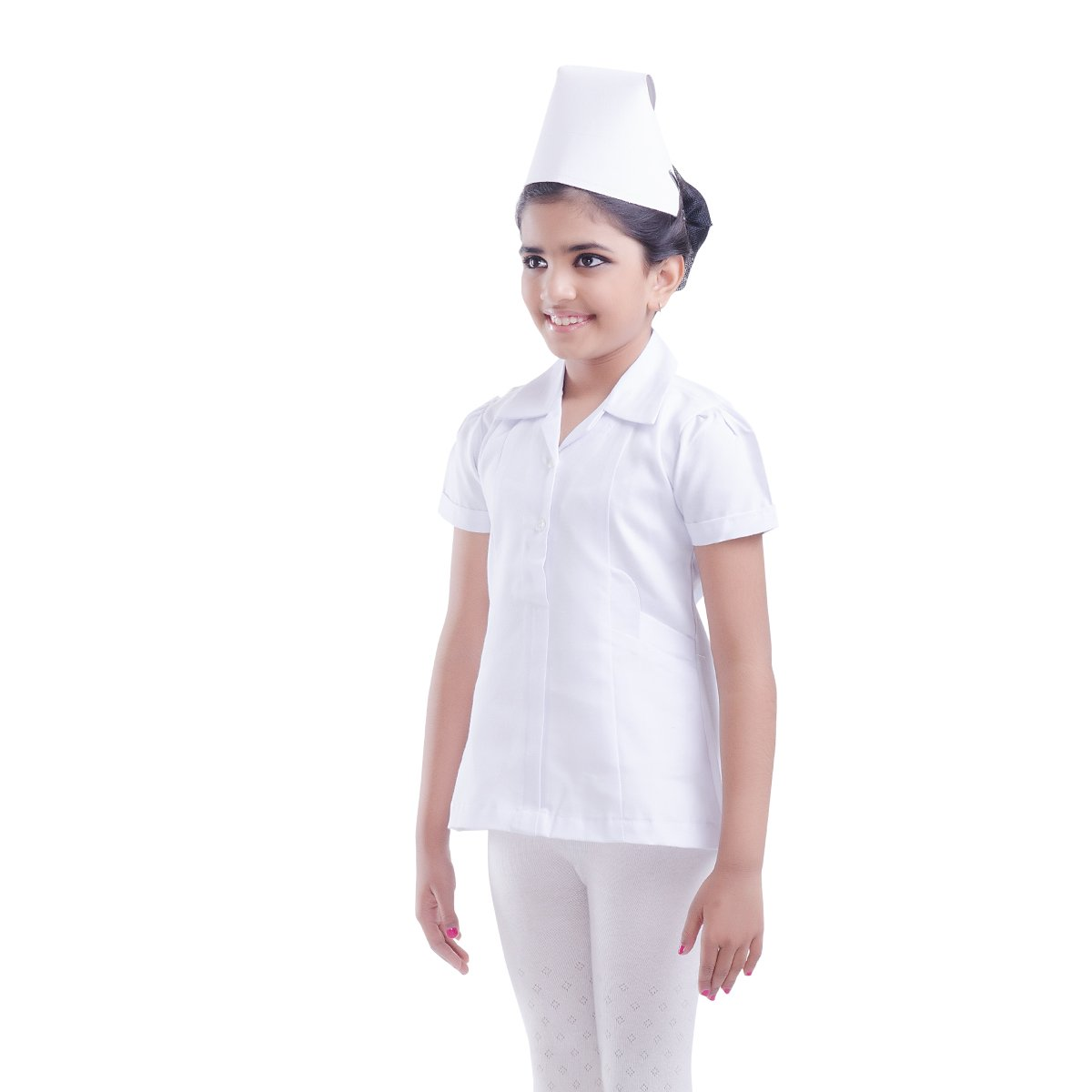 131f82972f962 Buy FancyDressWale Nurse Costume for Kids (White, 3-4 Years) Online at Low  Prices in India - Amazon.in