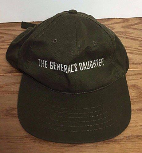 THE GENERAL'S DAUGHTER Movie PROMO Adjustable Hat Paramount / John Travolta