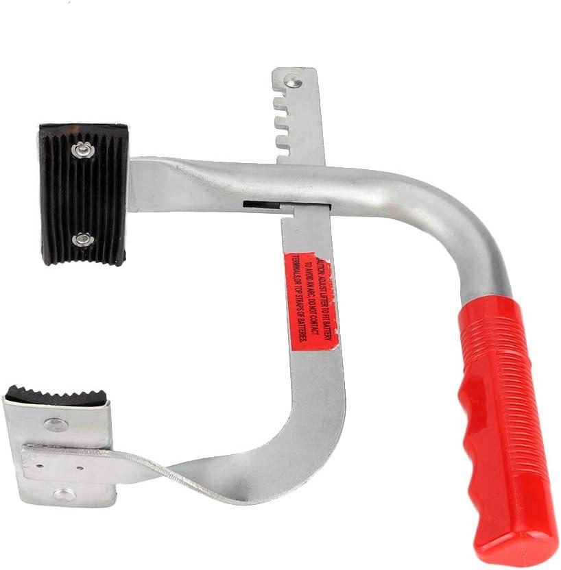 Elevador del Portador de la Bater/ía de Agarre de Elevaci/ón Lateral Ajustable de Metal Resistente Levante el Portador de la Bater/ía