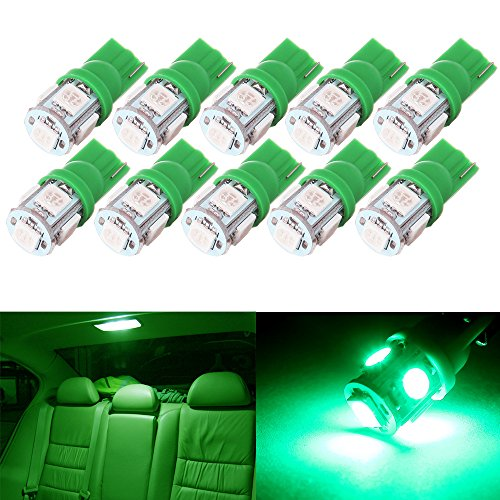 cciyu for 2002-2007 Buick Rendezvous LED Interior Lights Bulb Replacement Dome Map Glove Box License Plate Light Lamp -