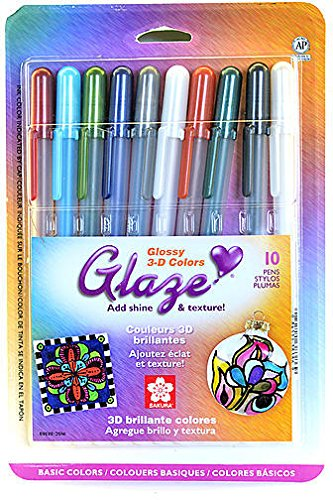 Sakura Gelly Roll Glaze Pens (Assorted Basic Colors) 1 pcs sku# 1875244MA