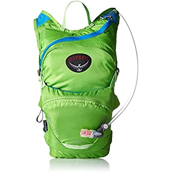 Osprey Packs Kid's Moki 1.5 Hydration Pack, Grasshopper Green