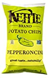 kettle chip pepperoncini - Kettle Foods Potato Chips Pepperoncini -- 8.5 oz - 2 pc