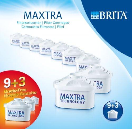 BRITA 1008003 Maxtra - Filtro de Agua (12 Unidades): Amazon.es: Hogar