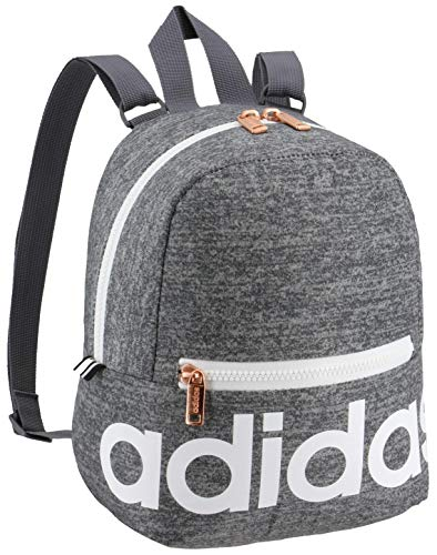 Get the adidas Linear Mini Backpack Jersey Onix/ White/ Rose Gold ...