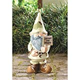 Indoor Outdoor Home tabletop Decorative Support Our Troops Garden Gnome