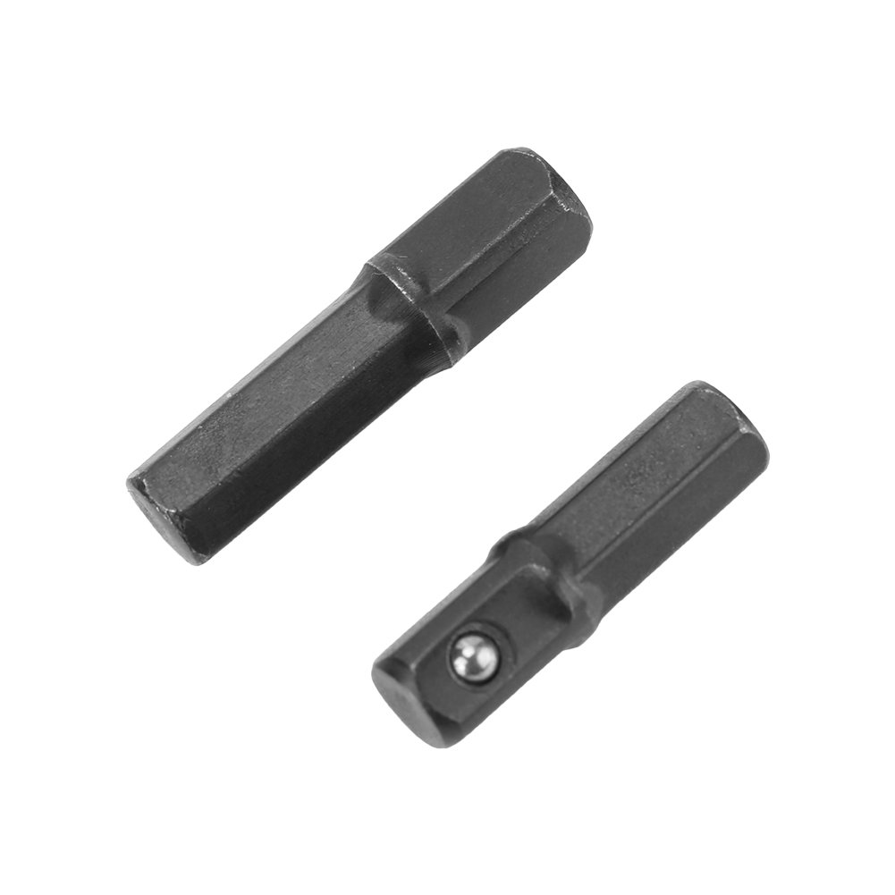 Set of 8 Pcs Socket Bit Adapter Socket Extension Adapter Hex Shank Impact Driver Power Drill Bits Set 1//4 3//8 1//2 Inch