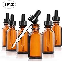 1oz Amber Dropper Bottle (6 pack)