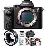 Sony Alpha a7S II Mirrorless Digital Camera & Sigma MC-11 Professional Bundle
