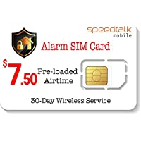 $7.50 Prepaid Alarm SIM Card for GSM Home Security Alarm System + GPS Tracker