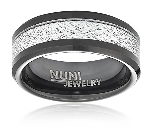 Tungsten Simulated Meteorite Nuni Jewelry product image