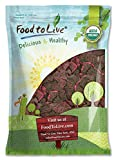 Organic Dried Red Dragon Fruit, Pitahaya by Food to Live (Non-GMO, Kosher, Unsweetened, Unsulfured, Healthy Snack, Bulk) 5 Pounds