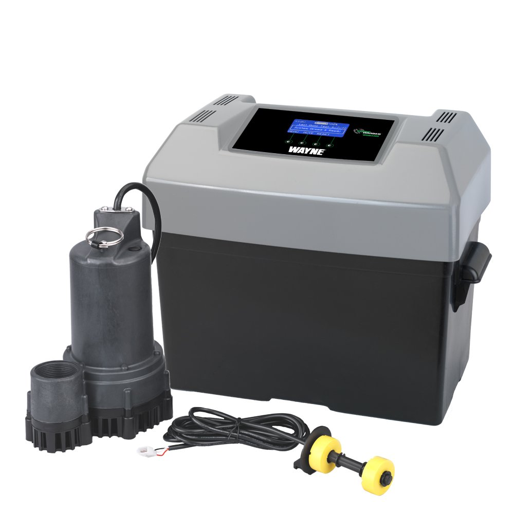WAYNE WSM3300 Sump Minder Advanced Notification Battery Back-Up Sump Pump System