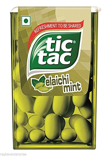 Spearmint Cool 12 Boxes (Tic-Tac-Elaichi-Cardamom-Mint-Pack-of-12-Ferrero)