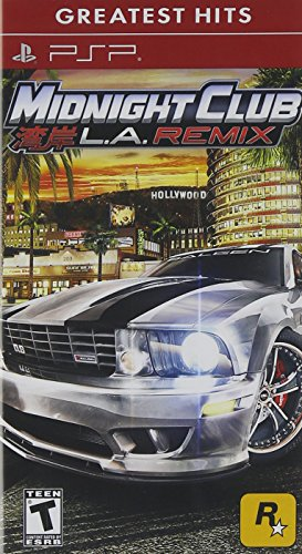Midnight Club: LA Remix - Sony PSP (Psp Racing Games With Best Graphics)