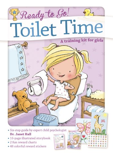 Toilet Time: A Training Kit for Girls (Ready to Go!) (Toilet Time For Girls)