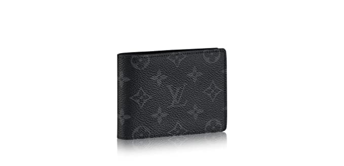 f39499a066ca Louis-Vuitton Multiple Wallet Monogram Eclipse M61695  Amazon.co.uk   Clothing