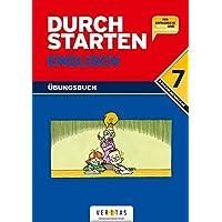 Durchstarten - Englisch - Neubearbeitung: 7. Schulstufe - Dein Übungsbuch: Übungsbuch mit Lösungen