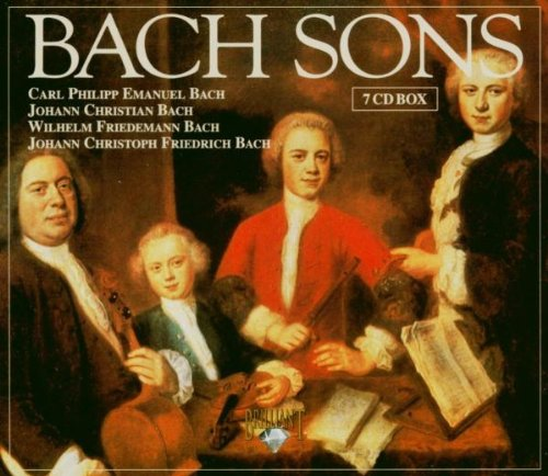 Bach Sons - Complete Symphonies The by Brilliant Classics