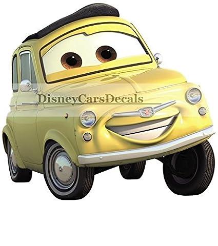 Amazon.com: 6 Inch Luigi Casa Della Tires Pixar Cars 2 Movie ...
