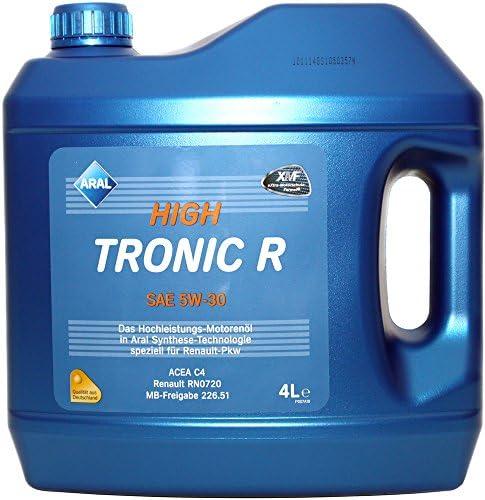 Aral High Tronic R Sae 5w 30 Motorenöl 4 Liter Auto