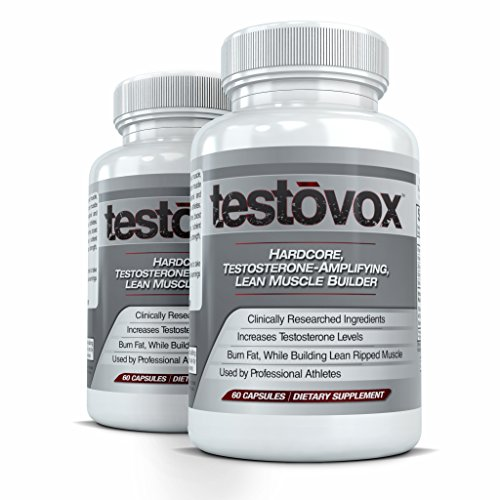 TESTOVOX (2 Bottles) - Professional Strength Muscle Building...