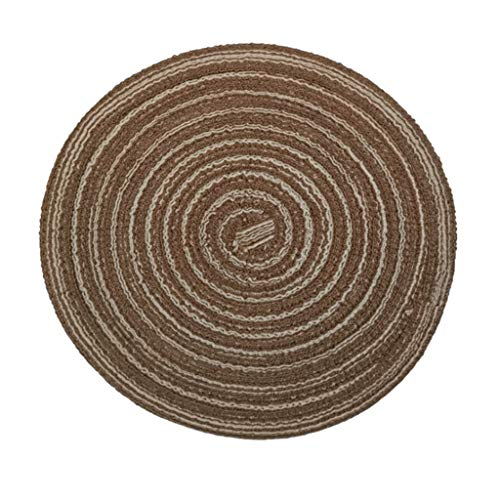 OrchidAmor Heat Insulation Placemat Plate Coaster Round Pad