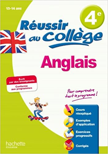 Livre Réussir au collège - Anglais 4e epub, pdf
