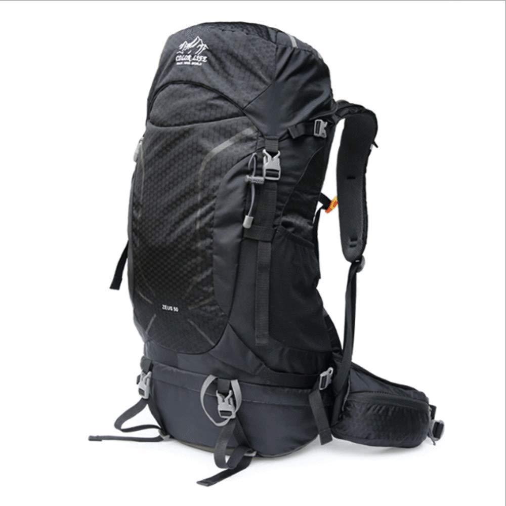 OFZYG 50lプロフェッショナル登山バッグアウトドアバックパックショルダートラベル大容量ハイキング旅行多機能通気性ピギーバック  E B07R8YTFRK