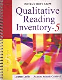 img - for Instructor's Copy Qualitative Reading Inventory - Fifth Edition book / textbook / text book