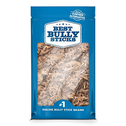 Best Bully Sticks Premium Lamb Puff Dog Treats (1.5 Pound Value Pack) - All-Natural - High in Protein & Low in Fat
