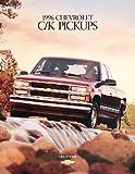 1996 Chevrolet Chevy C/k Silverado Truck Pickup Sales Brochure Catalog