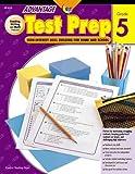 img - for Test Prep Gr. 5 (Advantage Workbooks) book / textbook / text book