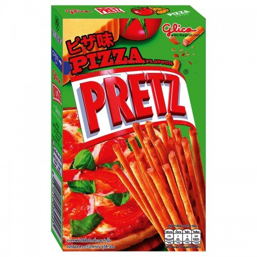 (Glico, Pretz, Bread Stick, Pizza Flavour, 36 g (Pack of 6 units) / Beststore by KK)