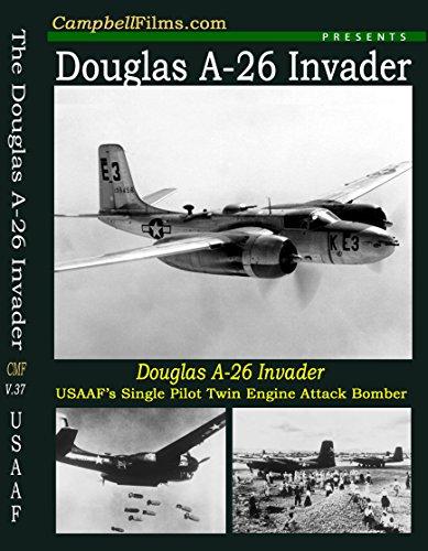 (Douglas A-26 Invader Attack Bomber WW2 Pacific Island War Korea Vietnam old films DVD)