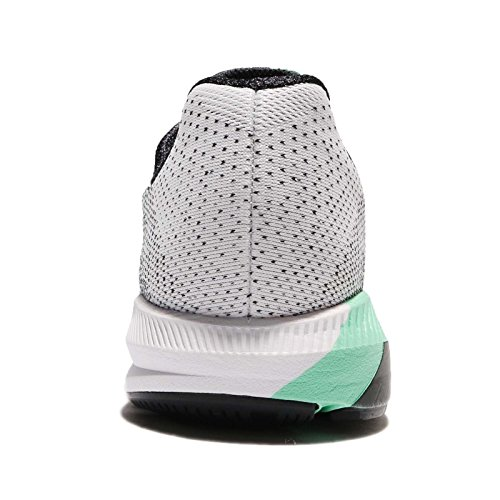 Nike Womens Wmns Air Zoom Struttura 20 Solstizio, Nero / Verde Glow-court Viola, 6 M Us