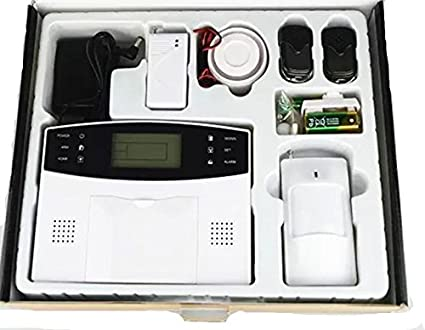 New Landing LCD Display Wireless GSM Alarm System - - Amazon.com