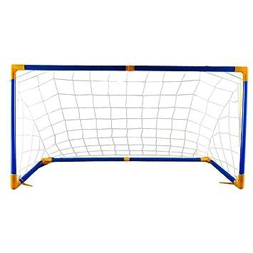 2x Faltbar Mini Fußball Training Futsal Indoor Outdoor Garten Kinder Tore