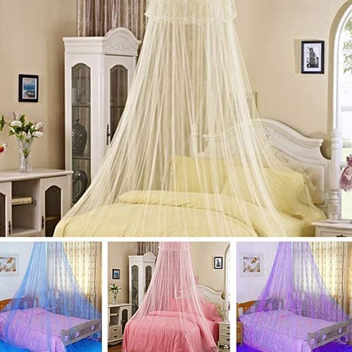Pink 60 x 260 x 850 cm Hohe Qualit/ät Vektenxi Elegante Lace Insect Betthimmel Netting Vorhang Runde Kuppel Moskitonetz Bettw/äsche