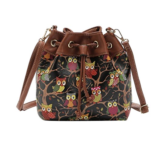Shoulder Handbag Tote Fenteer Satchel Purse Messenger Cross Body Women's Bucket Hobo qxqn05Tw