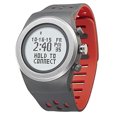 LifeTrak Zone R420 Adjustable Heart Rate Watch, Gray/Sport Red