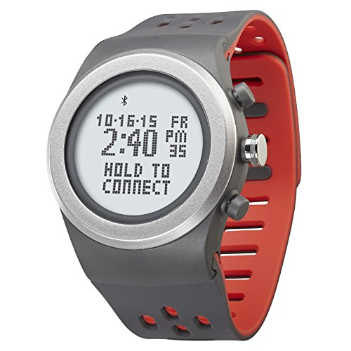 LifeTrak Zone R420 Adjustable Heart Rate Watch, Gray/Sport Red (Heart Rate Monitor Without Chest Strap Reviews)